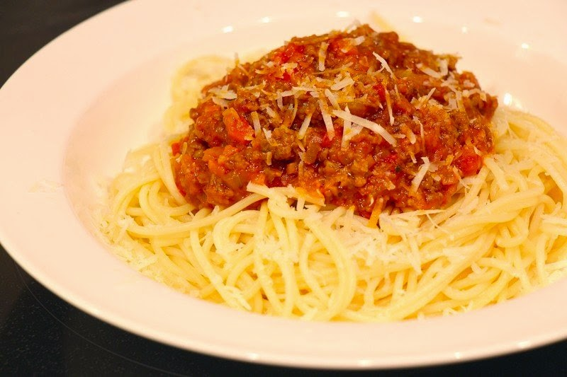 Meat Sauce For Spaghetti Recipe ~ Food Network Recipes
