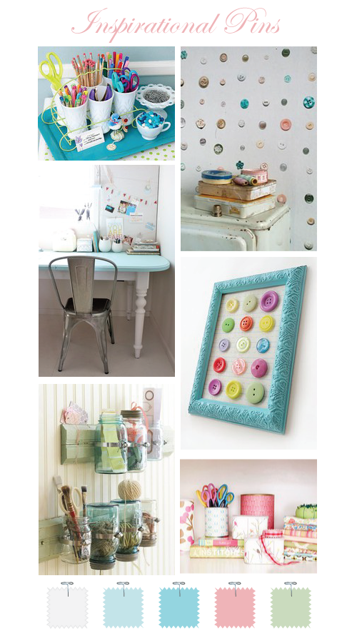 Craft Room Ideas by Torie Jayne