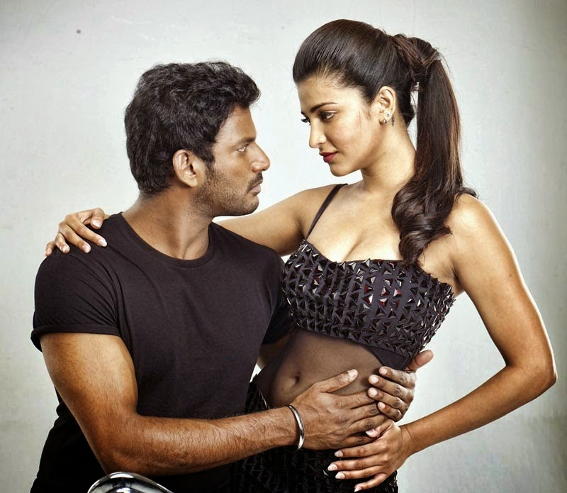 Shruti Hasan Latest Hot Stills | Poojai Movie | Vishal