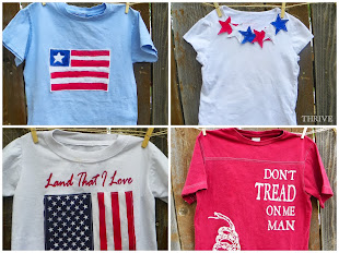 DIY Flag T-shirts