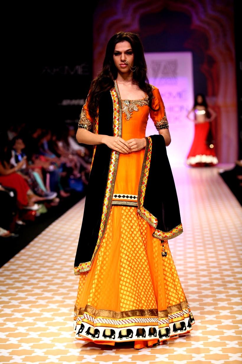Kochhar Archana collection lakme fashion winter festive