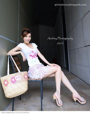Li-Fan-Pink-and-White-07-very cute asian girl-girlcute4u.blogspot.com
