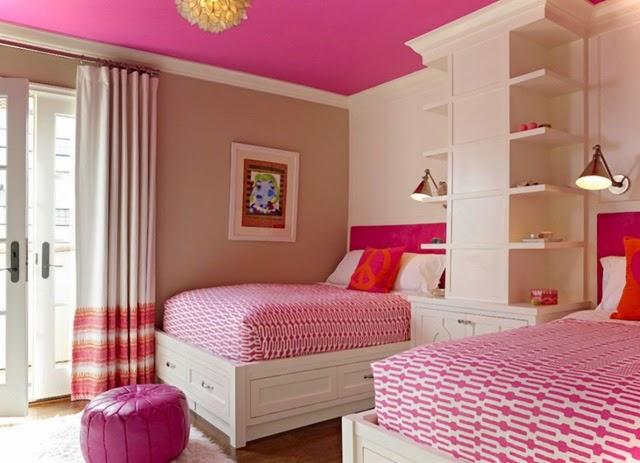 21 Preciosas Habitaciones para Niñas de color Rosa : Decorar tu ...