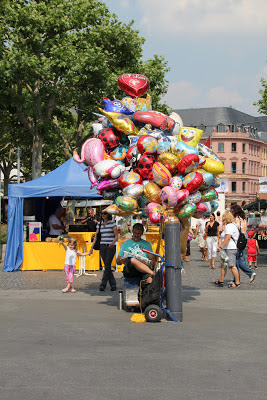 Balloon Seller in Mainz, Germany, 2010