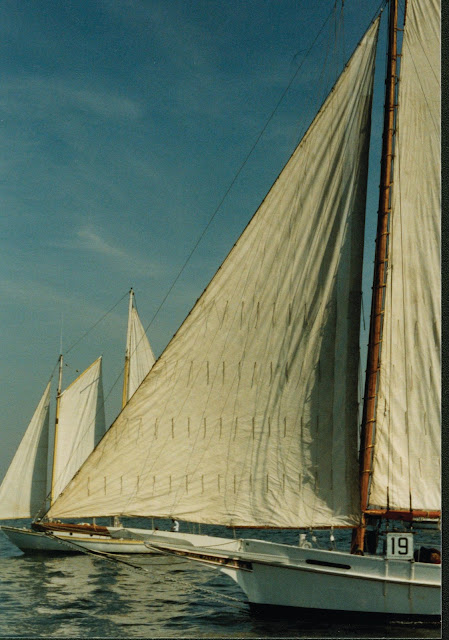 Chesapeake Bay Maritime Museum's Skipjack Rosie Parks