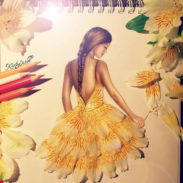 Beautiful Color Pencil Drawings & Creative Artworks 3