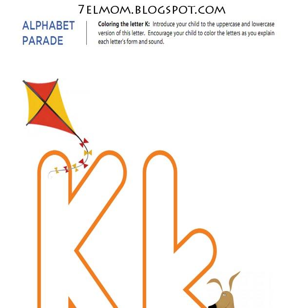 Mother Dream: worksheets Alphabet Letter K k