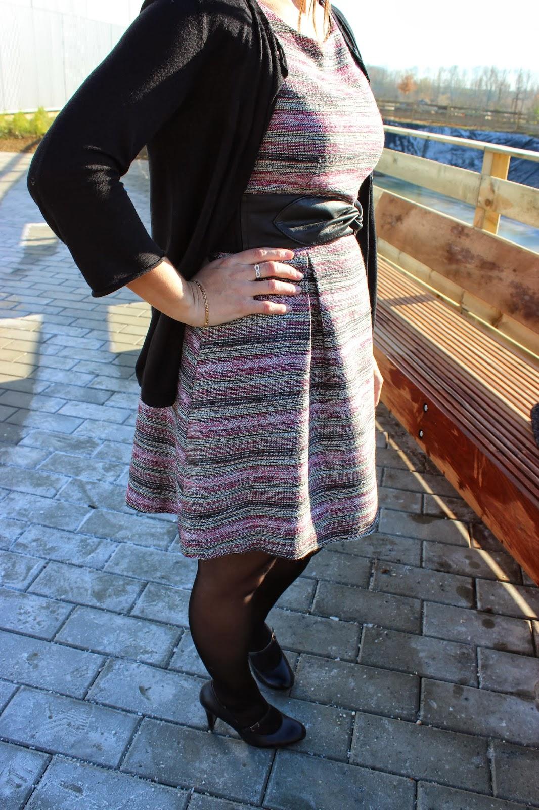 Robe babydoll naf naf multicolor
