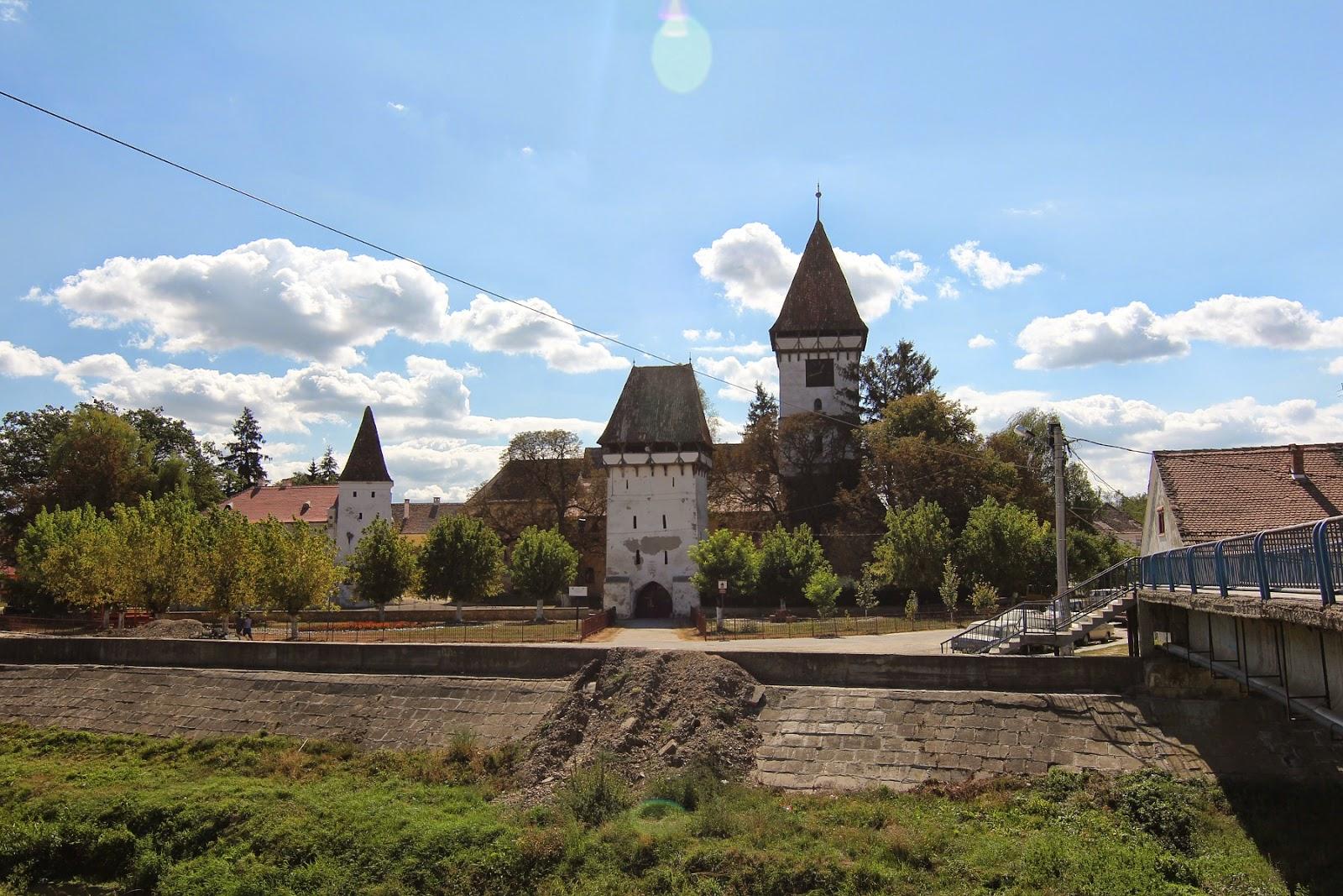Amazing Romania Hartibaciu Valley Agnita Town