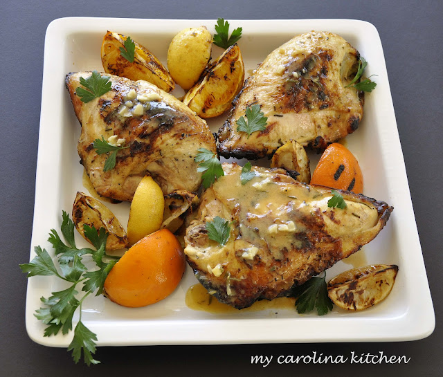 ... grilled chicken breasts with lemon basil vinaigrette grilled citrus