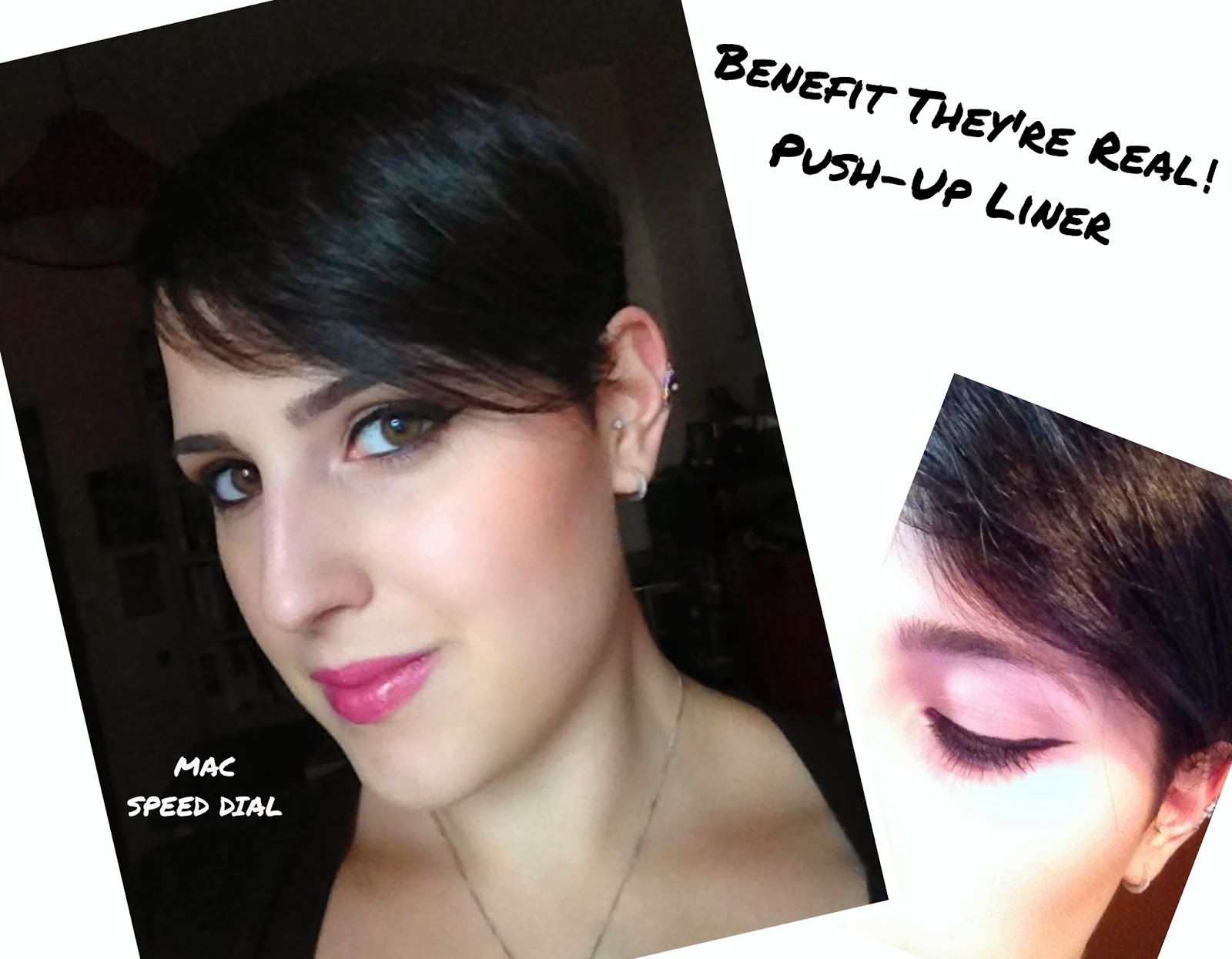 Benefit They're Real Push-Up Liner, Mac Speed Dial