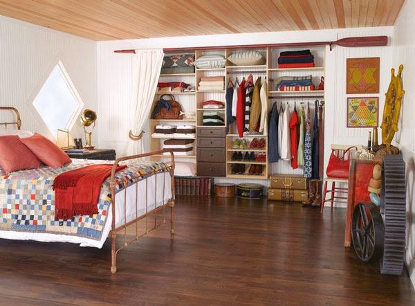 rangement armoire chambre coucher