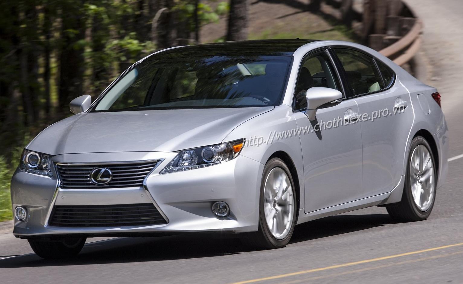 Cho thuê xe cưới Lexus ES350 đời mới giá ưu đãi