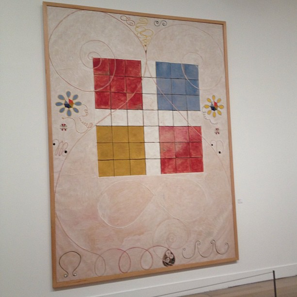 hilma af klint at the museum of modern art, stockholm