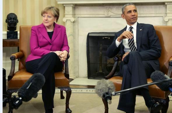 Τηλεφωνική συνομιλία Ομπάμα - Μέρκελ