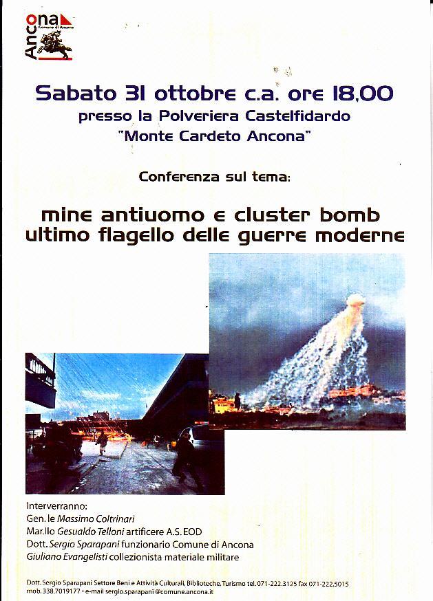 Ancona. 31 ottobre 2015 ore 18