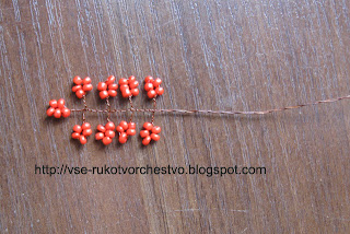 Денежное дерево из бисера. Мастер-класс