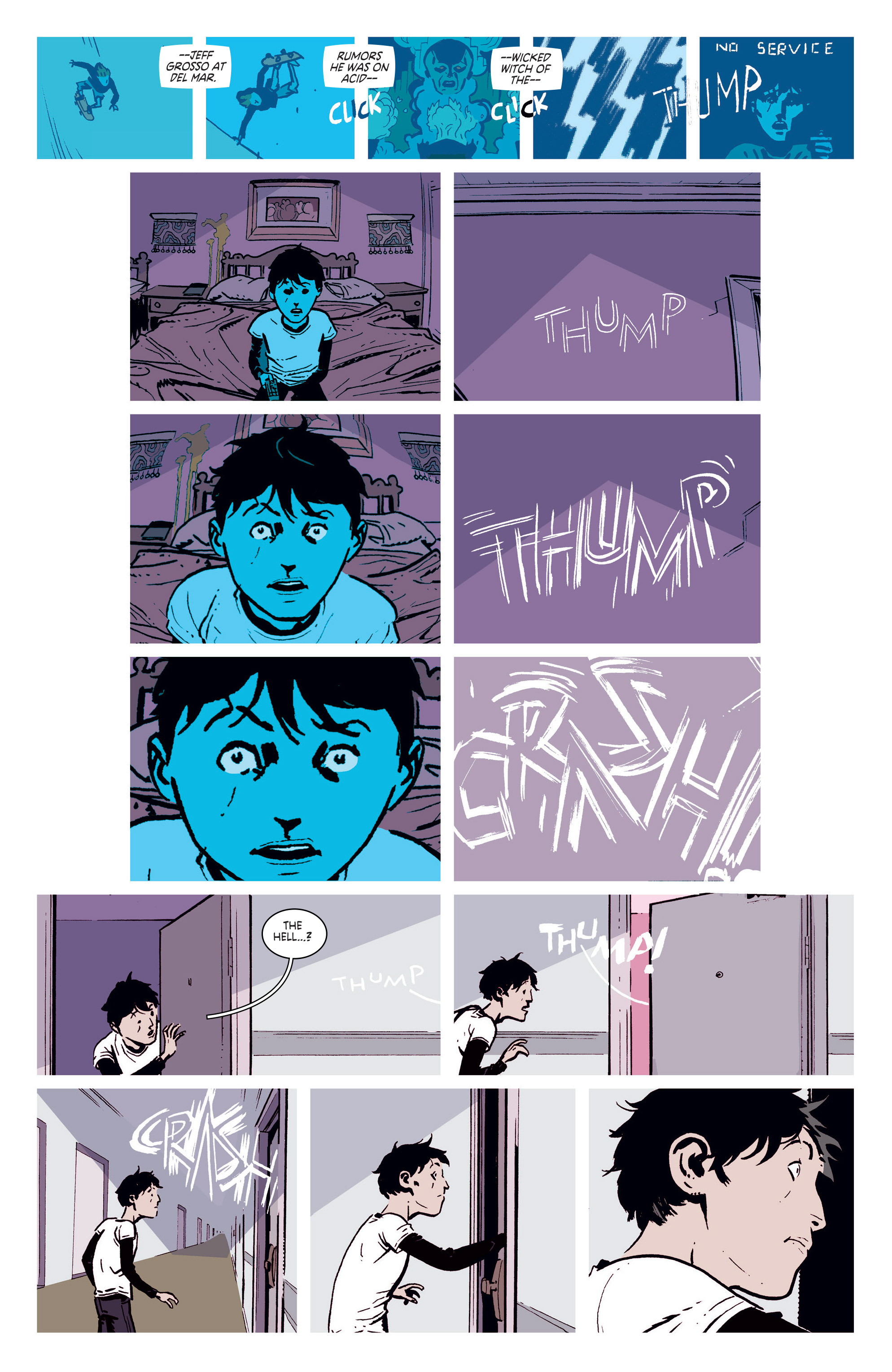 Read online Deadly Class comic -  Issue #5 - 6