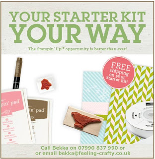 Start Making Money with Stampin' Up! Your Starter Kit Your Way for just £99