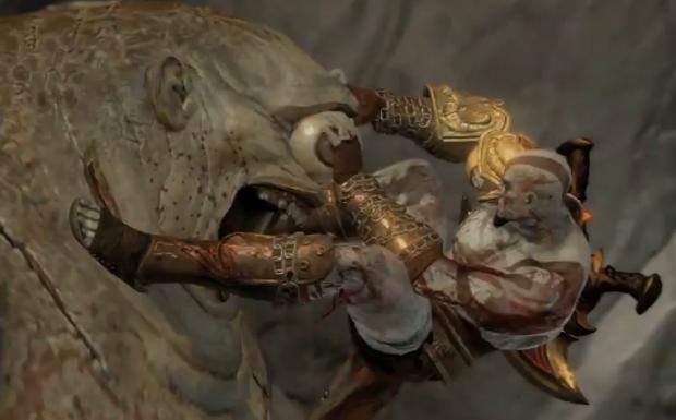 Mueble Aparador Gris Ceniza ~ Kratos& Mitologia GOW 3 parte 3 Ciclope
