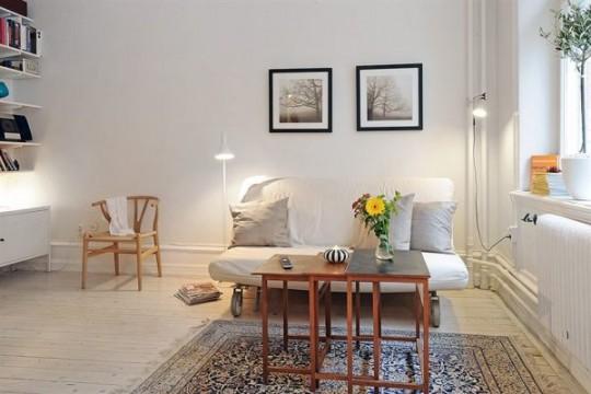 Apartamento moderno al puro estilo escandinavo ideas for Ideas para decorar un apartamento moderno