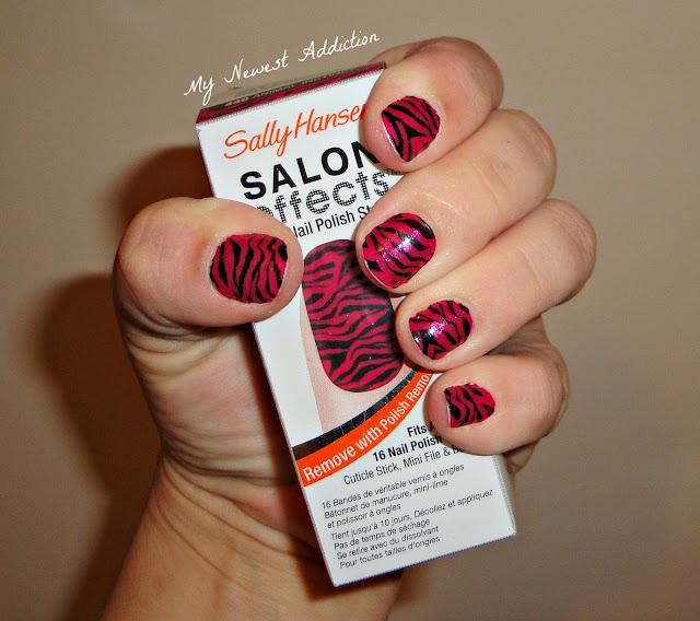 Sally Hansen Salon Effects Nail Polish Strips - My Newest Addiction