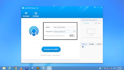 Cara Mudah Sharing Koneksi Laptop ke Android