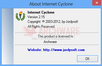 internet cyclone how to use