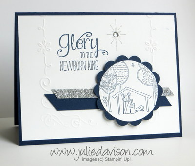Stampin' Up! Newborn King Card