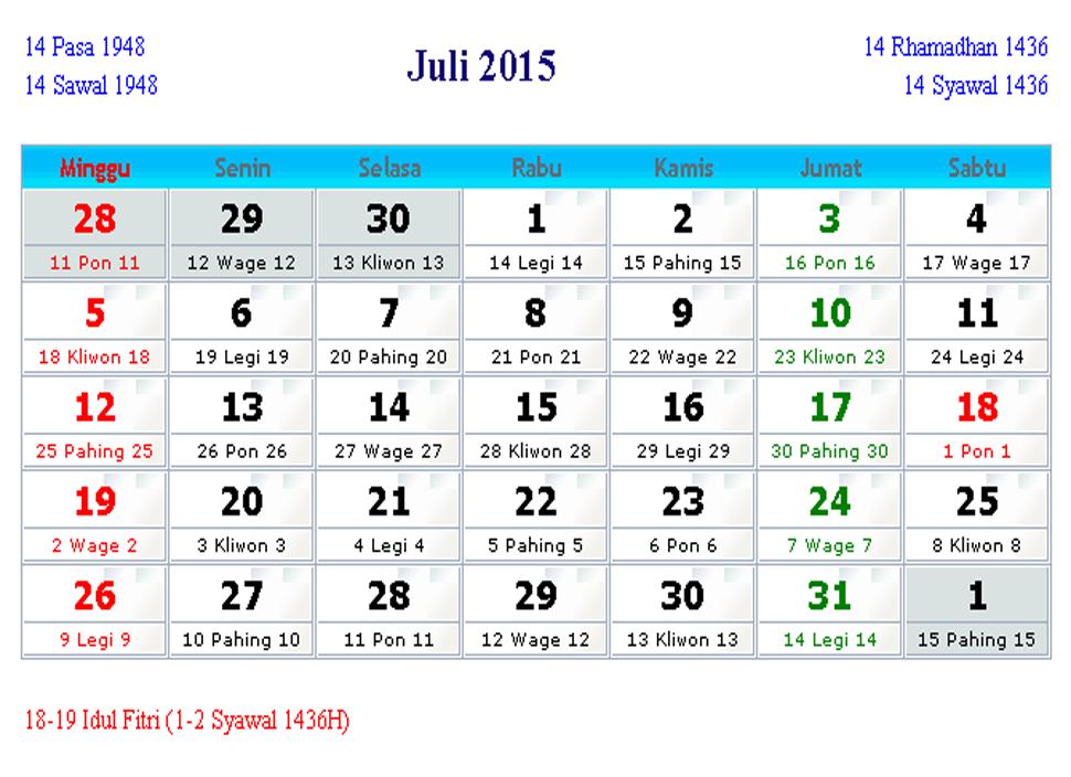 ... 704 png 219kB, Kalender Indonesia Juli 2015 | Kalender Indonesia 2015