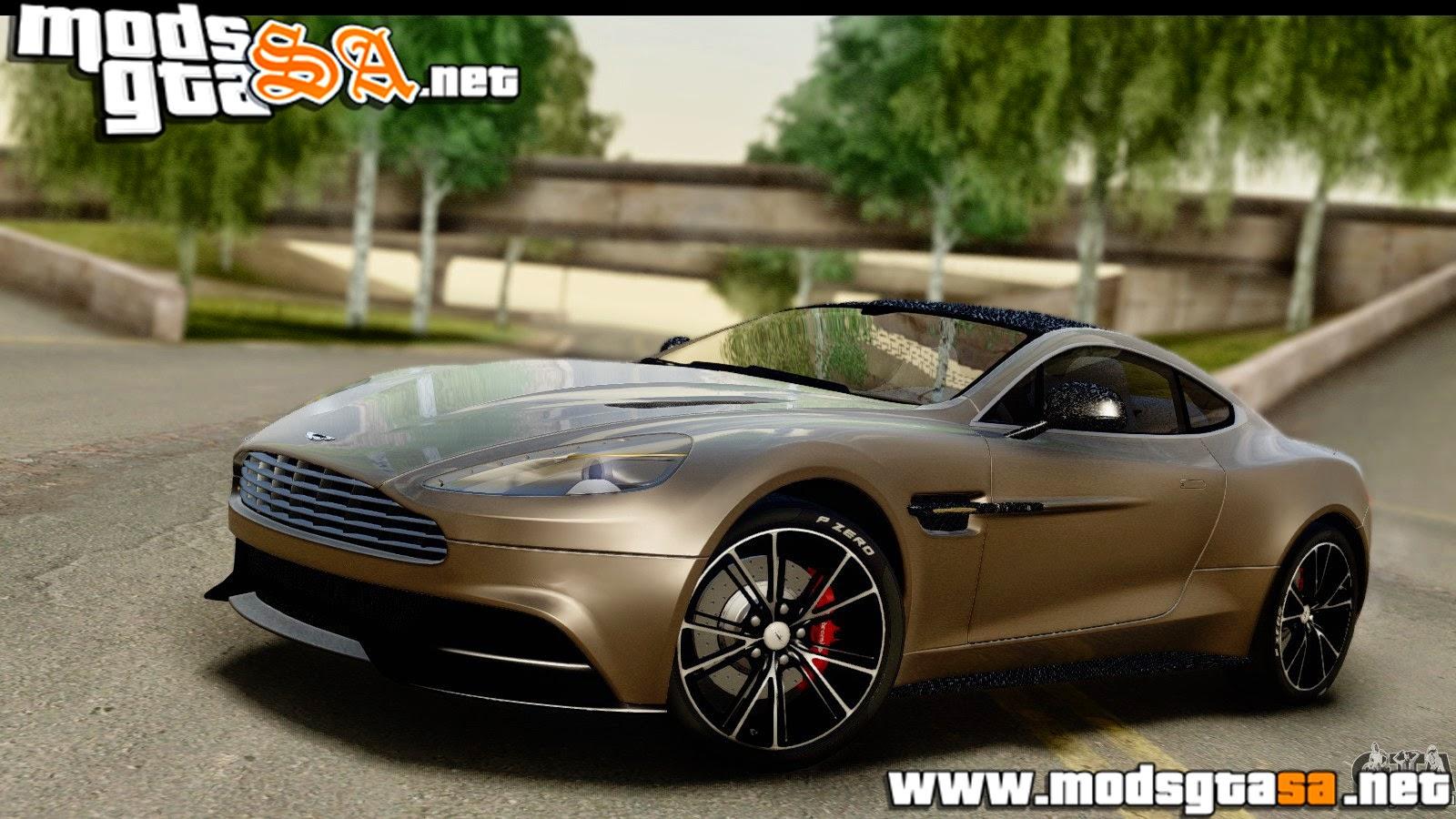 SA - Aston Martin Vanquish 2013 Road Version