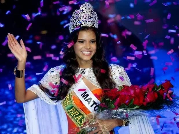 Miss Brasil 2013 winner Jakelyne Oliveira