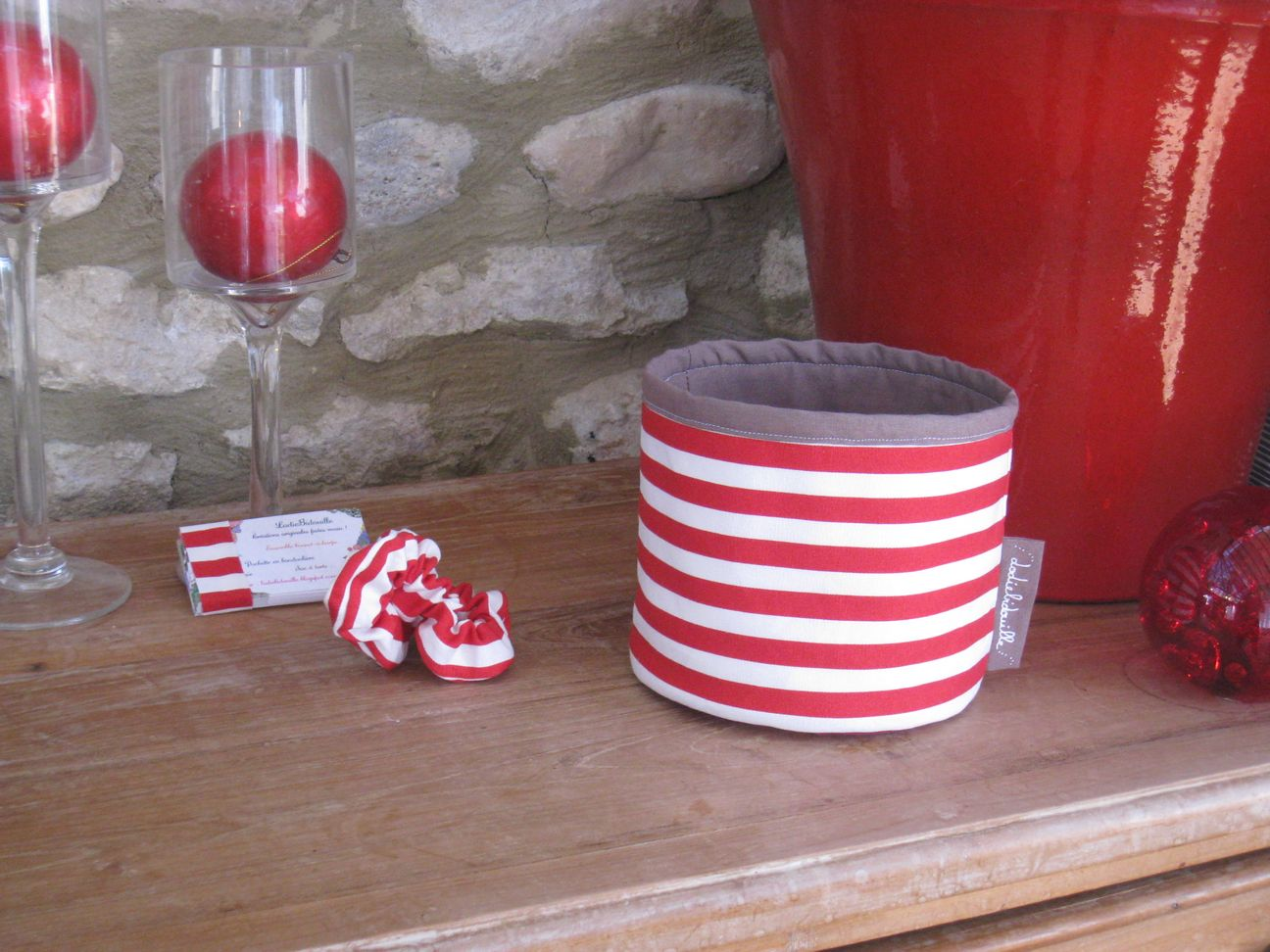 lodiebidouille cr ations originales faites main kit beaut le petit pot de rangement. Black Bedroom Furniture Sets. Home Design Ideas