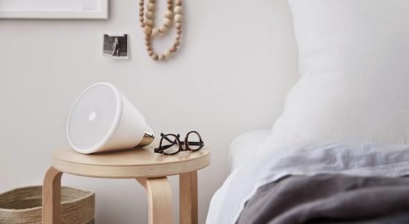 altavoz, diseño, tecnología, minimalista, blanco, dekoloop