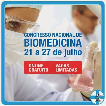 Acesso Ouro ao Congresso Nacional de Biomedicina - CONAB