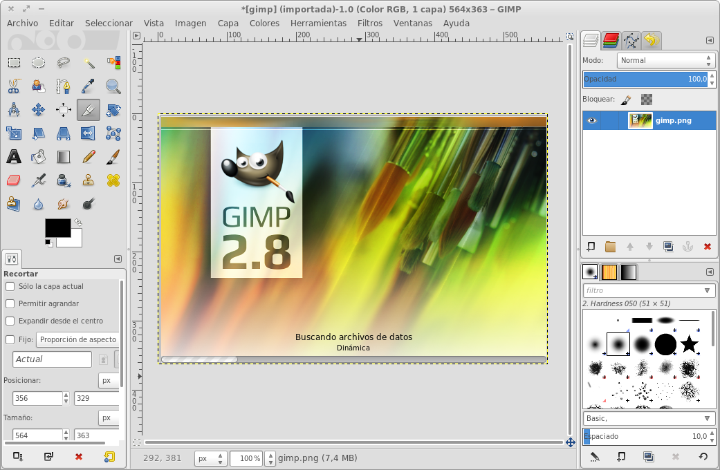 how to open gimp on windows 10