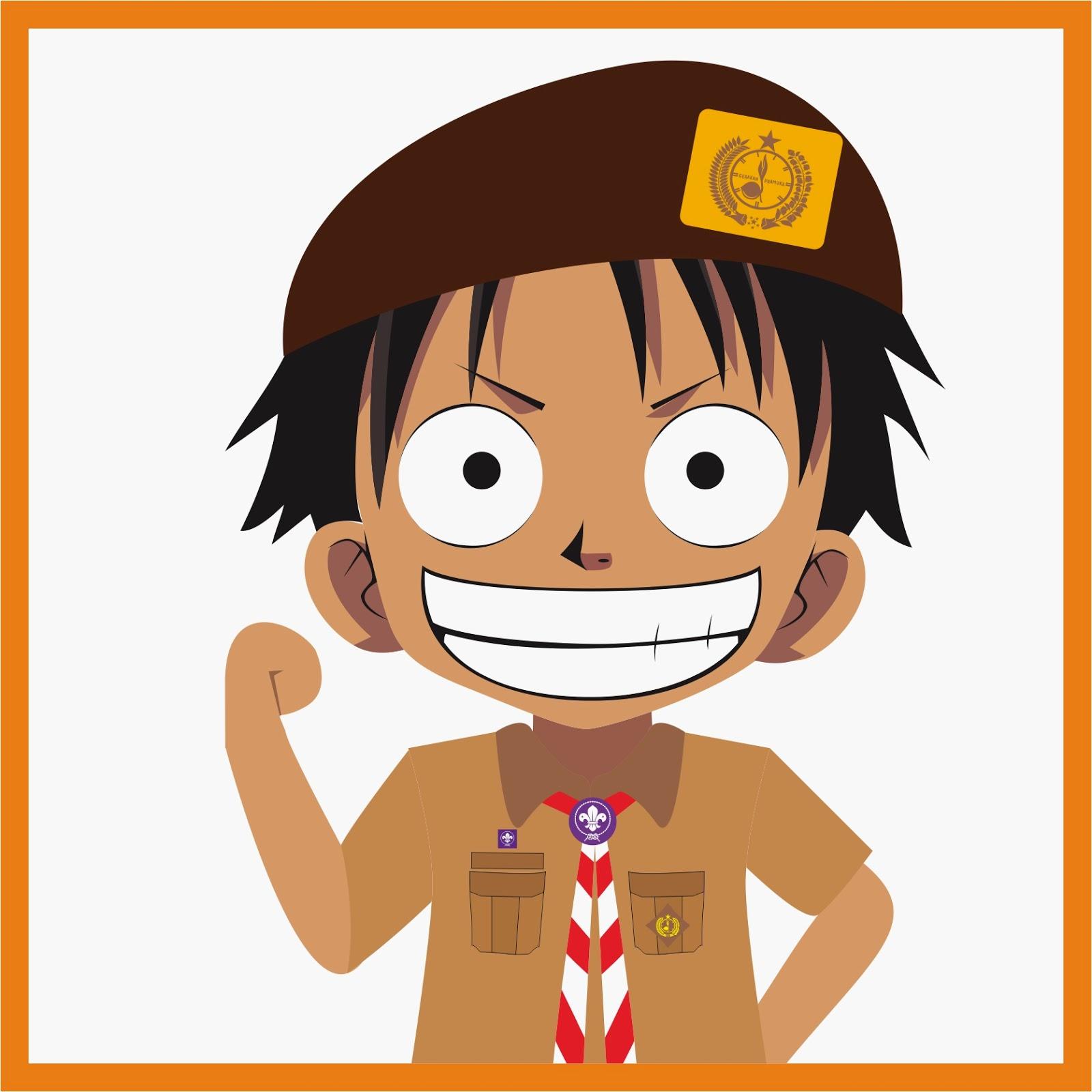 Kumpulan Gambar Kartun Anime Pramuka Kolek Gambar