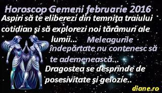 Horoscop Gemeni februarie 2016