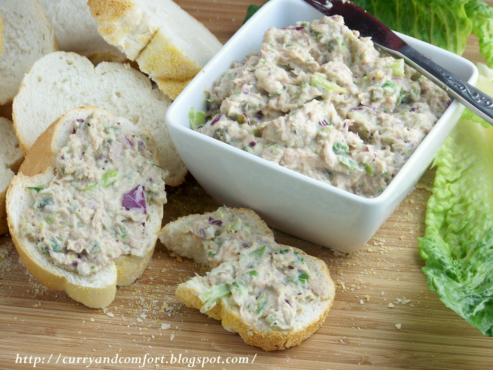 Tuna Salad With Crackers Eat with bread, crackers or in