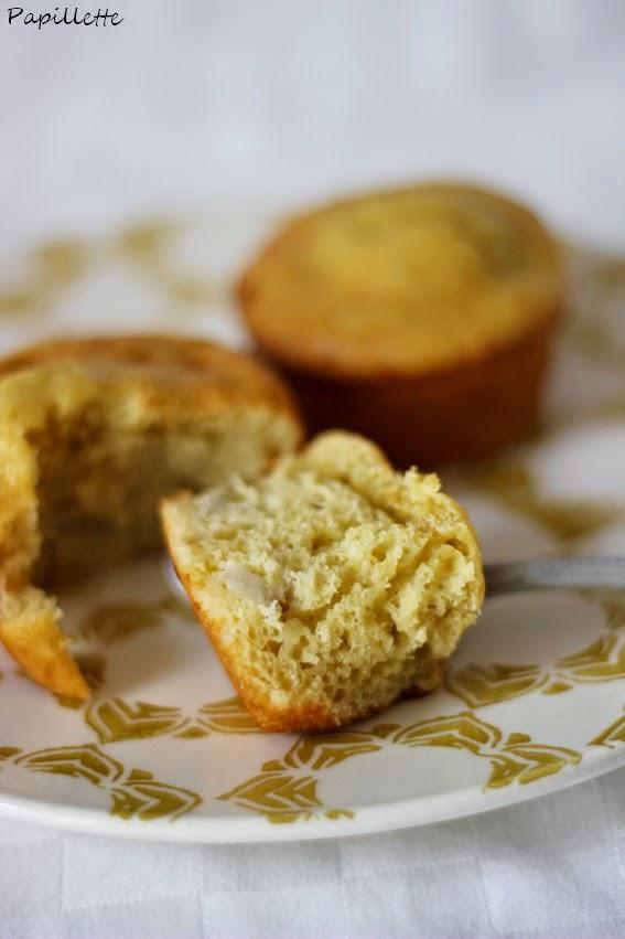 muffin banane cardamome