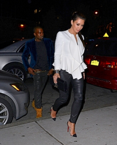 update: Wardrobe Malfunction :Kanye West's Pants Fall Down While Out