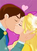Золушка целует принца - Онлайн игра для девочек