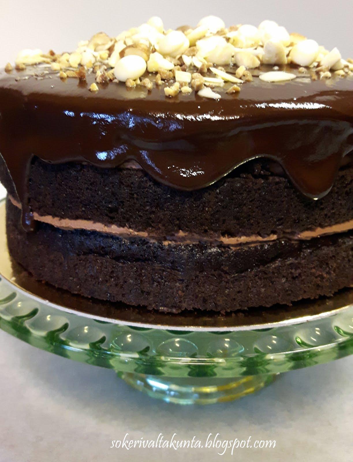 Maailman helpoin ja maukkain suklaakakku