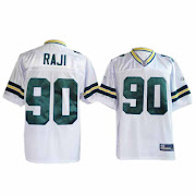 Raji Jersey, #90 Green Bay Packers Authentic Jersey in White