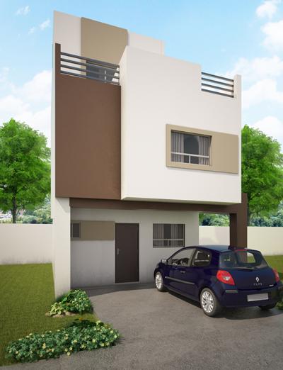 Fachadas de casas modernas: junio 2013