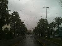 regen in Nice