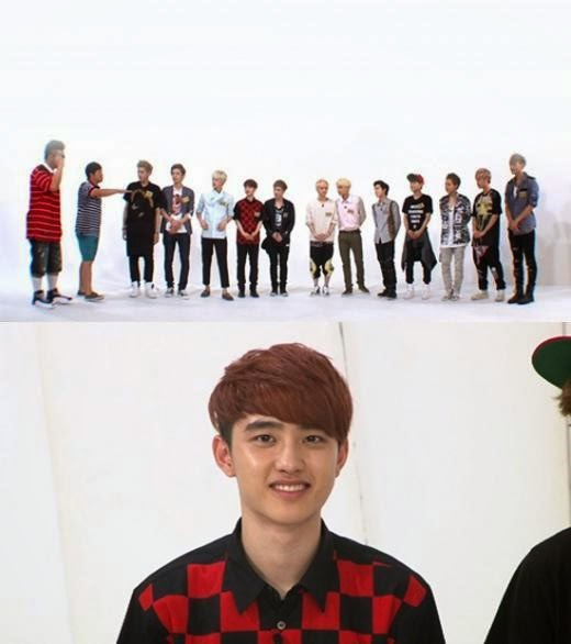 weekly idol exo video clip d.o apperance ranking face baekhyun luhan dance kai lay chanyeol suho chen sistar give it to me xiumin charming act Defconn Jeong Hyong Don enjoy korea hui K-Pop