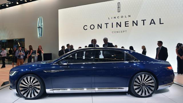Nuevo Lincoln Continental 2015