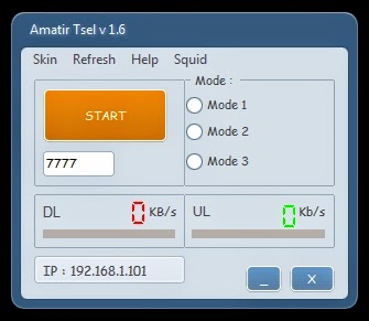 Inject Telkomsel Amatir v1.6 19 Januari 2015