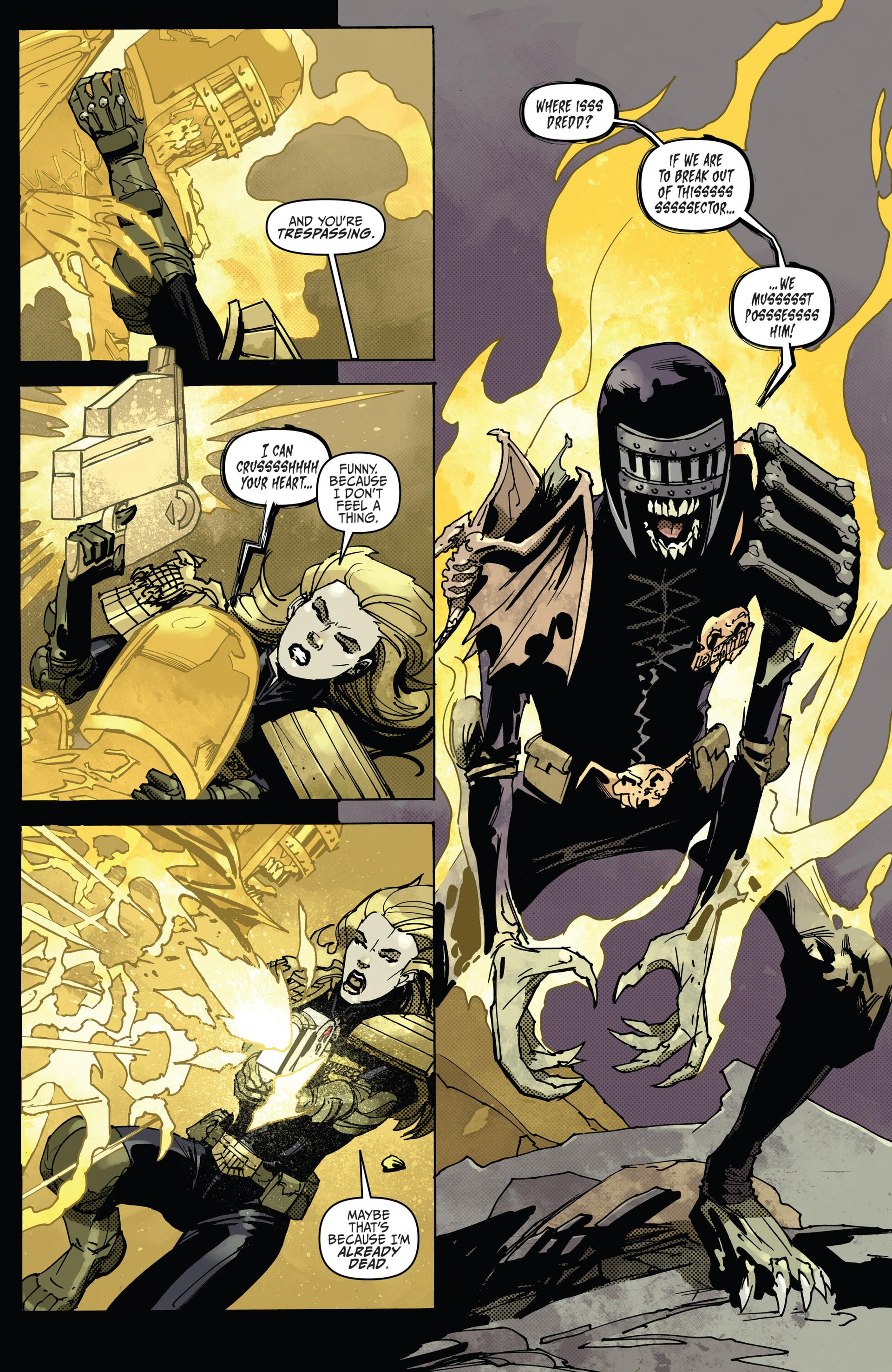 Read online Judge Dredd (2012) comic -  Issue #22 - 13